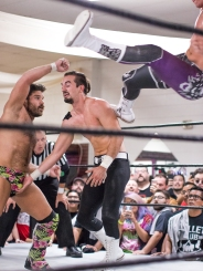 Youporn Plex and Disaster Kick combination by Joey Ryan and Cody.