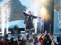Ring of Honor event: Bully Ray makes a wild entrance. Hasselblad H6D 50c, 300mm f/4.5 at 1/500.