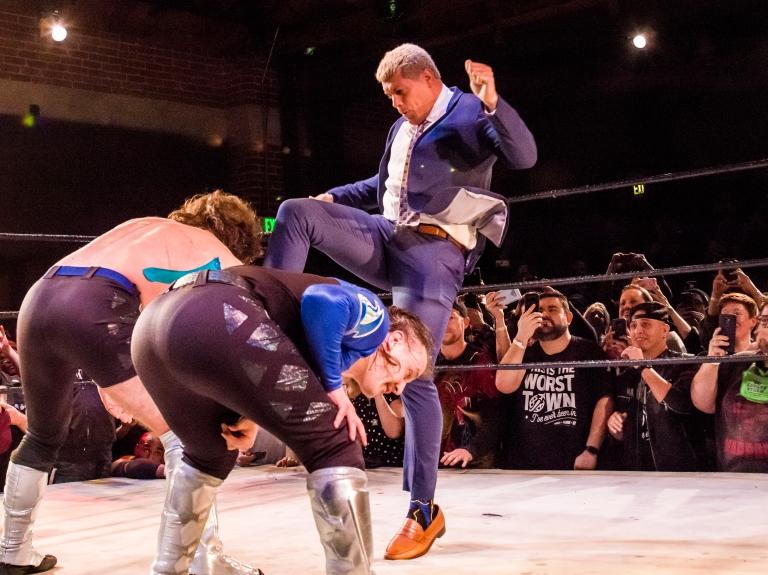 Cody Runnels Bar Wrestling